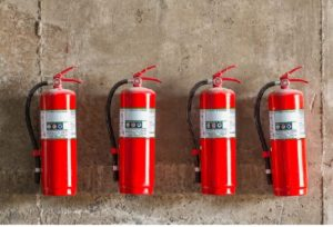 Fire extinguishers from Anderson Fire Protection