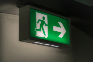 Answering Questions About Fire Exits