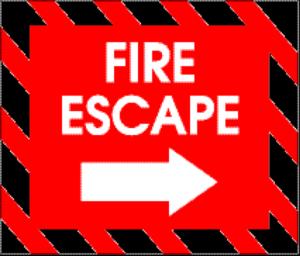 Fire Exit General Design Needs