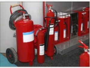 Cleaning Up Various Types of Fire Extinguisher Residue